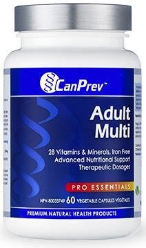 CanPrev Adult Multi 60 VCaps