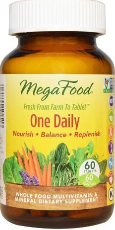 MegaFood One Daily Multi-Vitamin