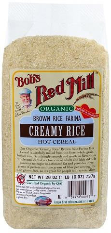 Bob's Red Mill Creamy Rice Hot Cereal - 737g