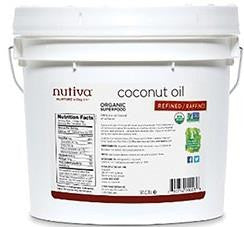 Nutiva Organic Virgin Coconut Oil - 3.79L