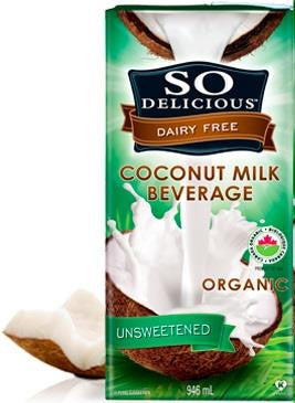 So Delicious Coconut Milk Beverage - 946ml