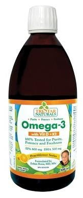 Tristar Naturals Omega 3 500ml orange