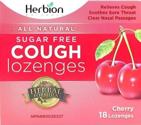 Herbion Cough Lozenges - 18pc