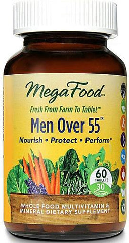 MegaFood Men Over 55 Multi-Vitamin