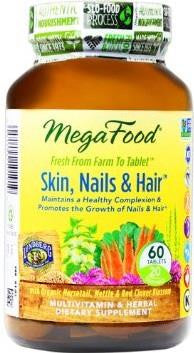 MegaFood Skin, Nails & Hair Supplement