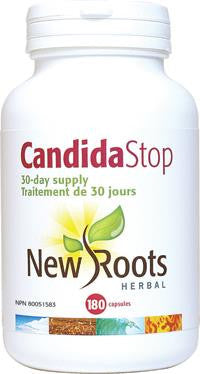 New Roots Candida Stop 180 Caps