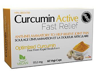 AOR Curcumin Active Fast Relief 60 VCaps