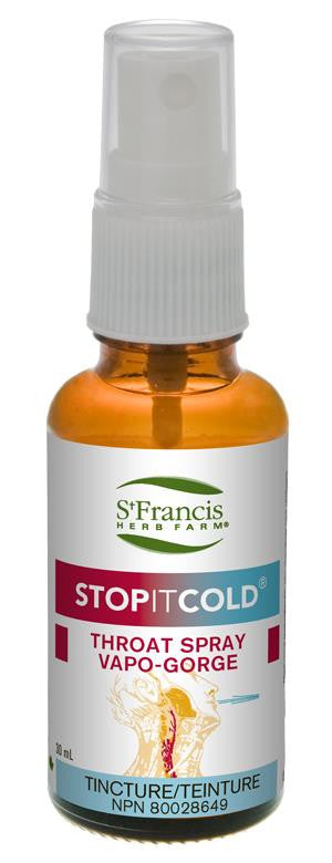 St. Francis Stop It Cold Throat Spray 30ml