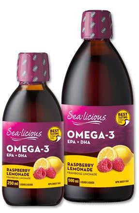 Sealicious Omega-3 Raspberry Lemonade
