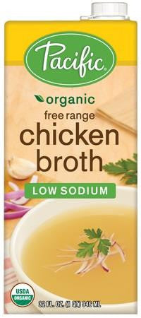 Organic Free Range Chicken Broth Low Sodium