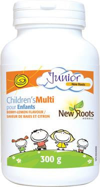 New Roots Children's Multi Berry-Lemon Flavour 300g
