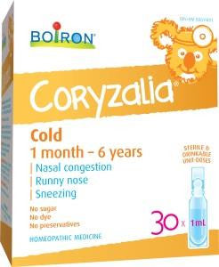 Boiron Children's Coryzalia Cold 30 x 1ml