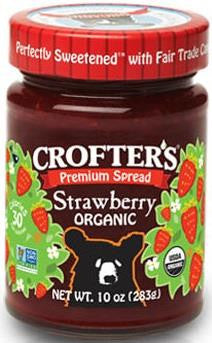 Crofters Strawberry Jam - 283g
