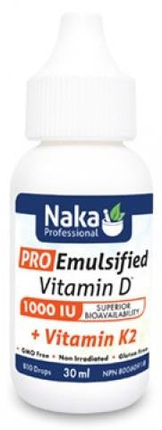 Naka Pro Emulsified D with K2