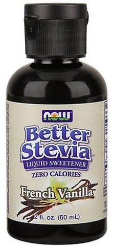 NOW Better Stevia Liquid Extract French Vanilla 60ml