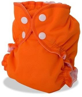 Apple Cheeks Diaper Size 1 & 2 Orange You Glad?