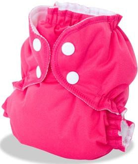Apple Cheeks Diaper Size 1 & 2 Raspberry Sorbet