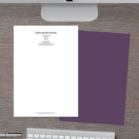 Letterhead - Block-back