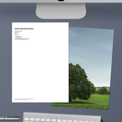Letterhead - Photo-back