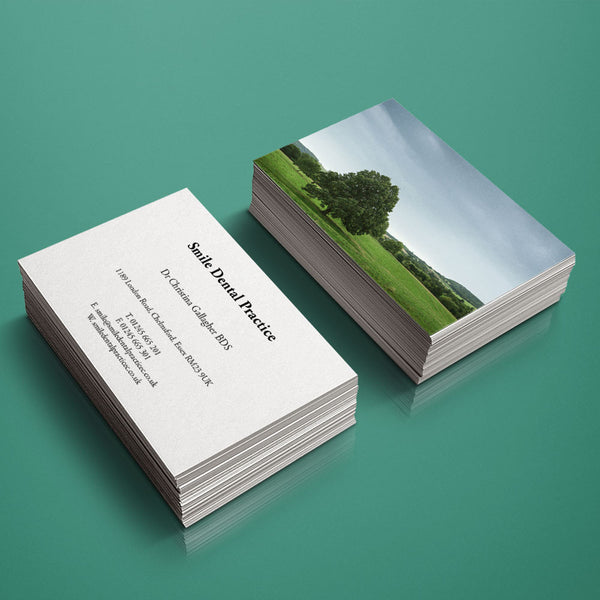 Business Cards - Photo-back