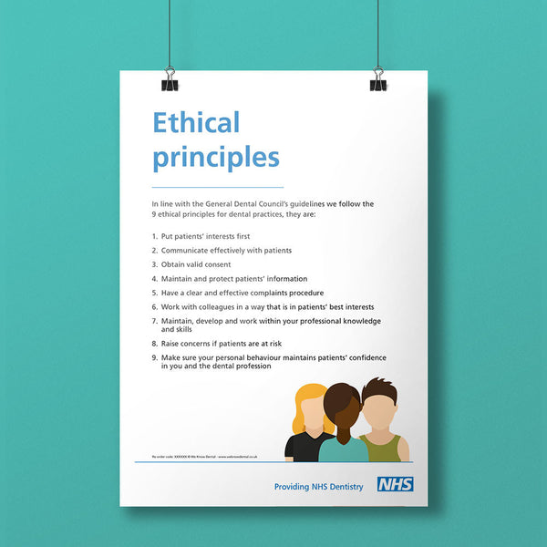GDC Principles Notice - NHS