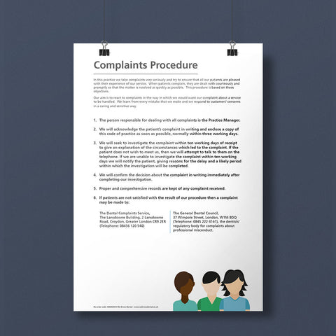 Complaints Policy Notice