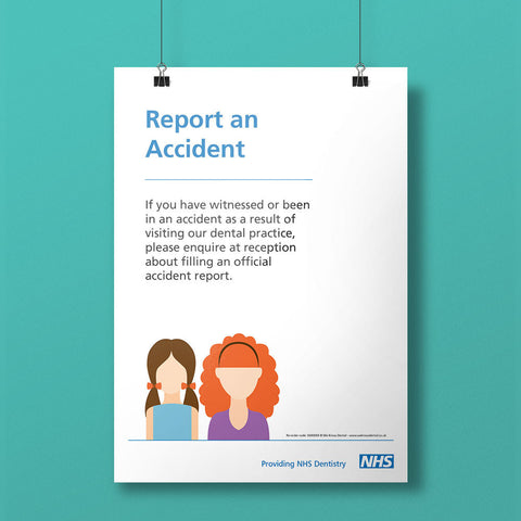 Accident Reporting Notice - NHS