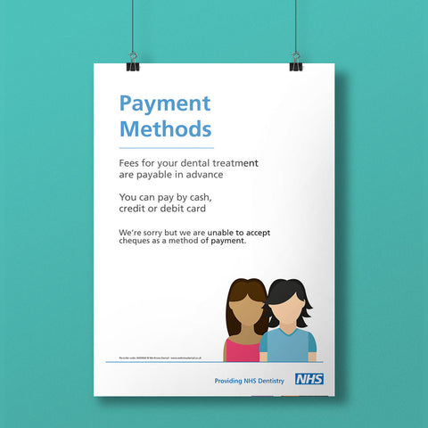 Payment Methods Notice - NHS