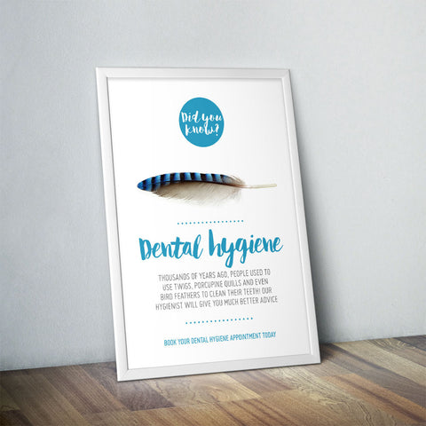 Oral Hygiene Poster - Did You Know Range