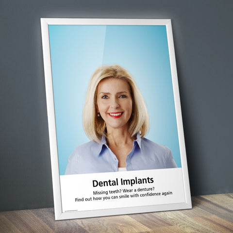 Dental Implants Poster - Classic
