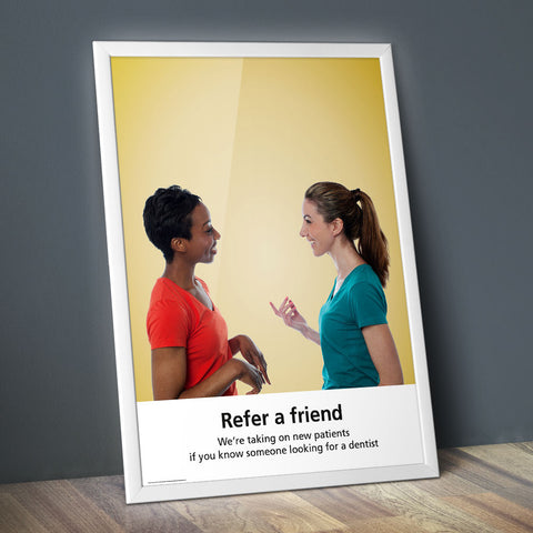 Refer a Friend Poster - Classic