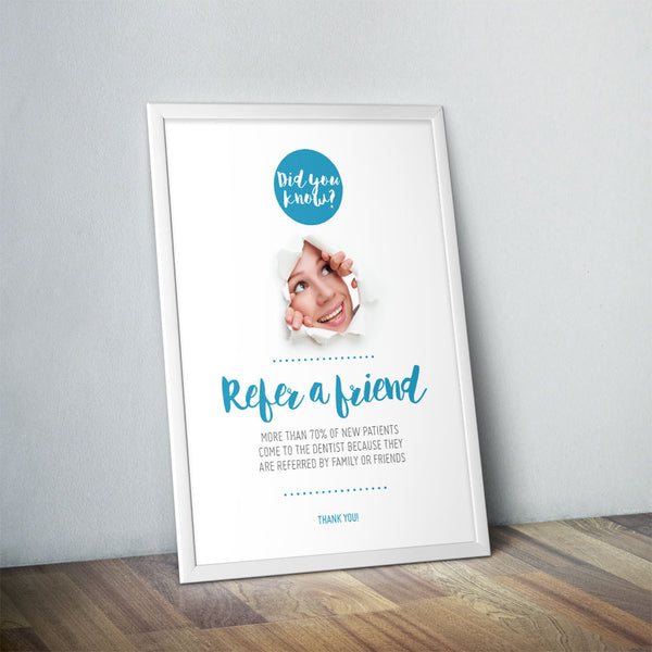 Refer a Friend Poster - Did You Know Range