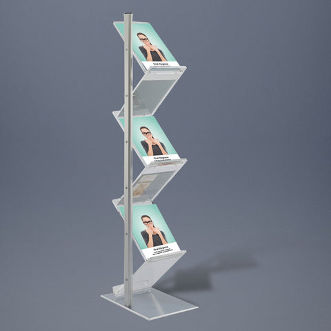 Zig-Zag Brochure Display