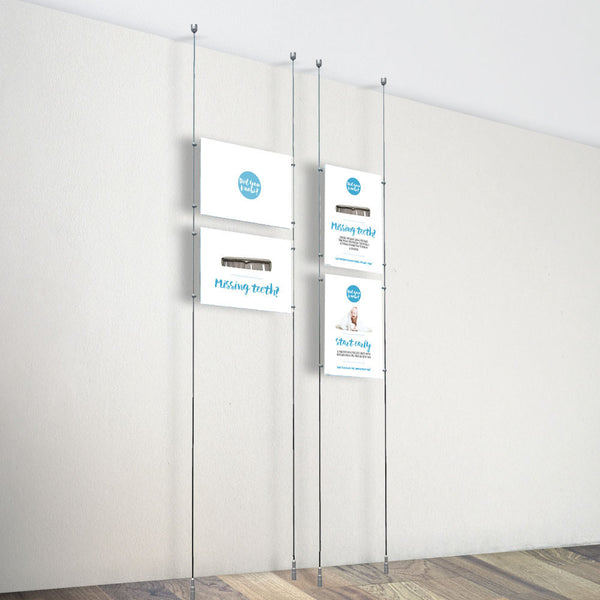 Ceiling To Floor Poster Kits