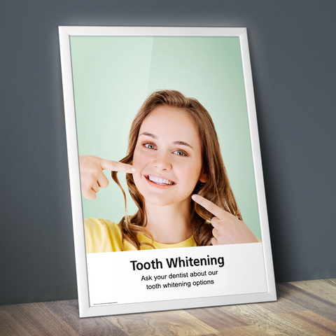 Tooth Whitening Poster - Classic