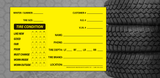 Generic Tire Info Sticker