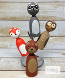 Forest Animal Finger Puppets
