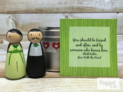 Rhett and Scarlett Gift Tin