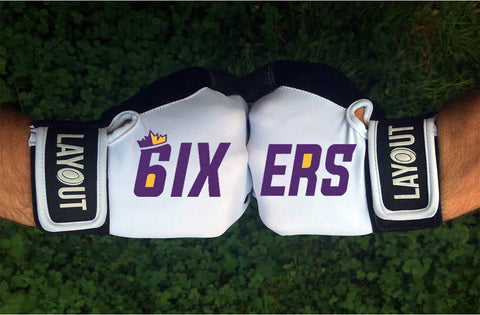 Custom Spot Sublimation Layout Gloves