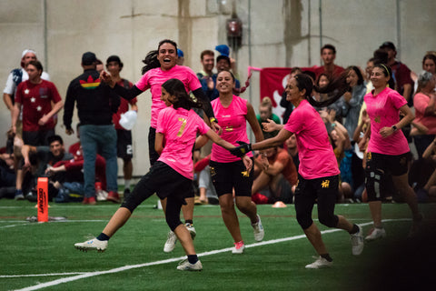 Colombia Revolution at WUCC 2018