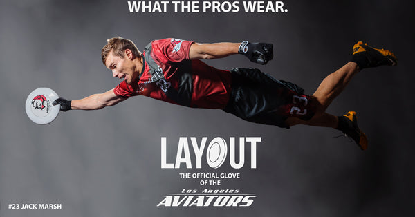 What the Pros Wear Layout Ultimate Frisbee Gloves