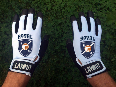 Custom Layout Gloves Montreal Royal