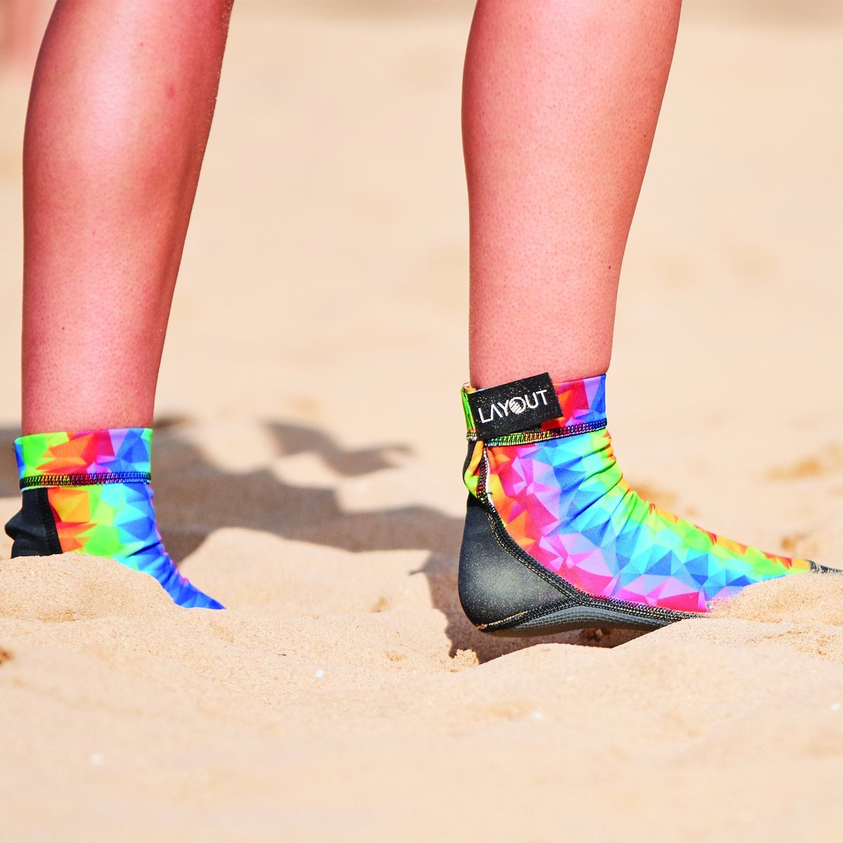 Layout Beach Socks - 2 Pairs - Beta - Layout Ultimate