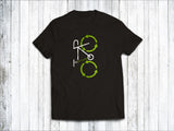 Recycling Men's T-Shirt in  Black