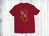 Recycling Men's T-Shirt in Stereo Red
