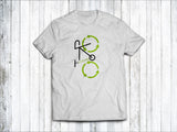 Recycling Men's T-Shirt in  White