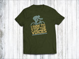 I Ride to Stop the Voices Men's T-Shirt in Forest Green