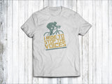 I Ride to Stop the Voices Men's T-Shirt in  White