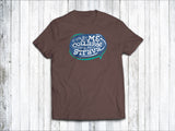 Pause My Strava Men's T-Shirt in  Brown