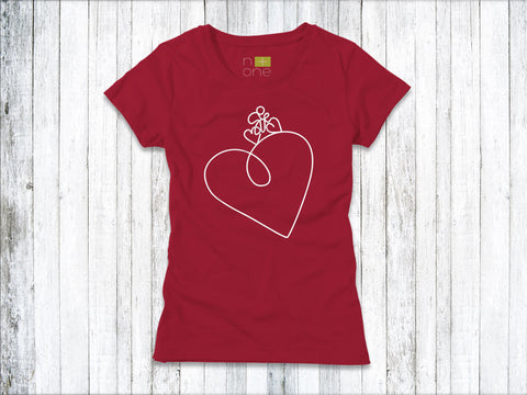 Uphill Heart Women's T-Shirt